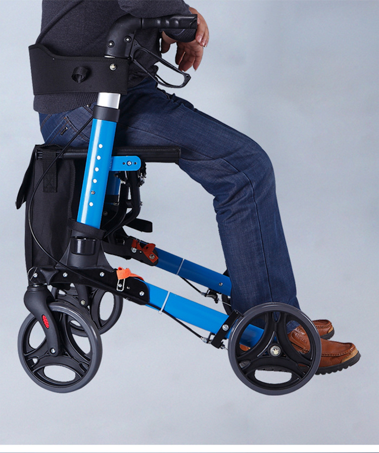 The Rollator Mobyles is a new modern seat walker design by Hero.