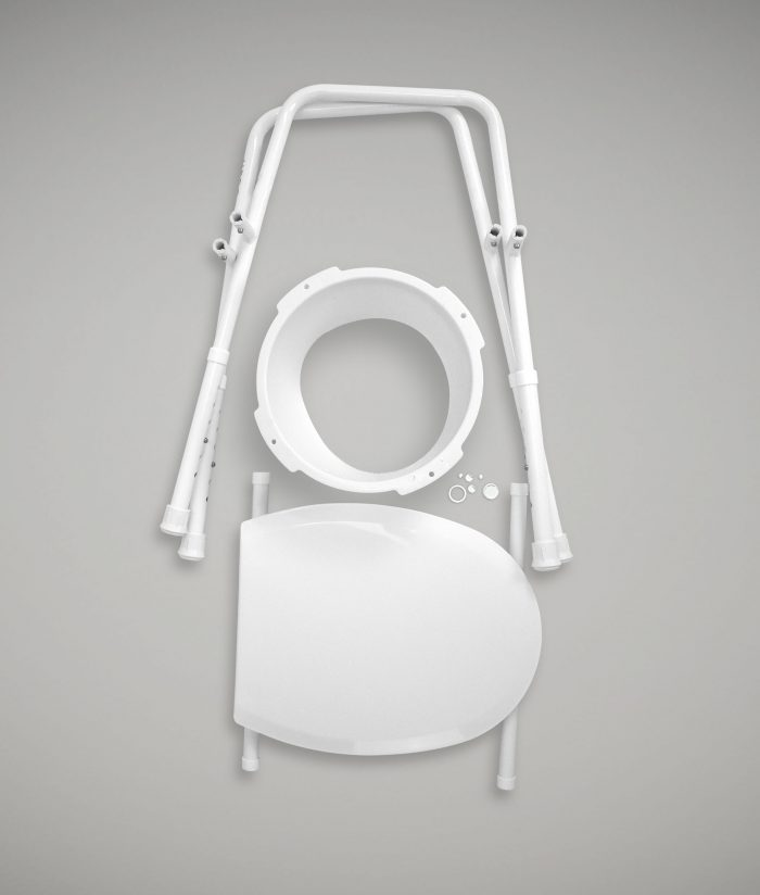 Portable Over Toilet Aid 2